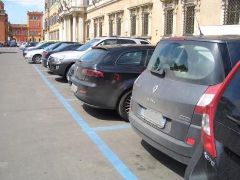 関係なしに駐車